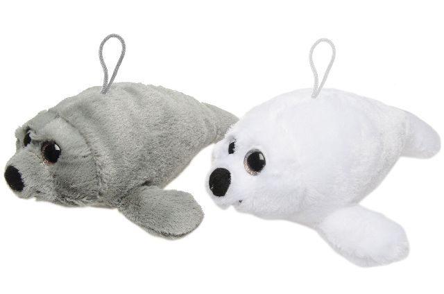 Seehund Robbe 2 Farben sortiert ca 28 cm