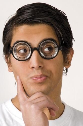 Brille - Partybrille Nerd
