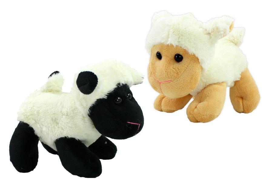 Kuschel Schaf stehend 2-fach sortiert ca 20 cm