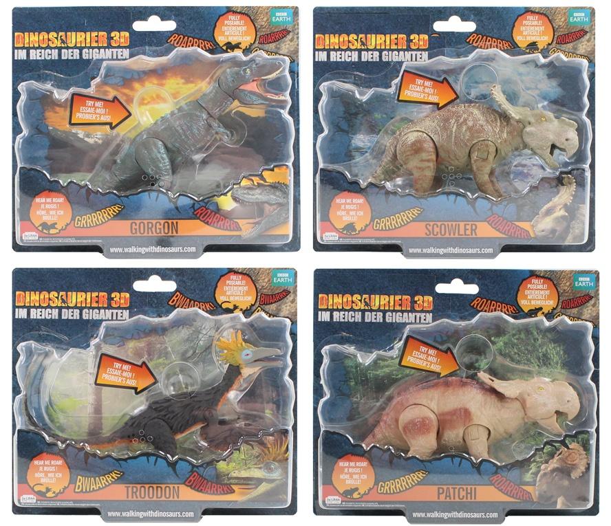 WWD Vivid Walking mit Dinosaurs 4-fach sortiert - ca 18-21cm