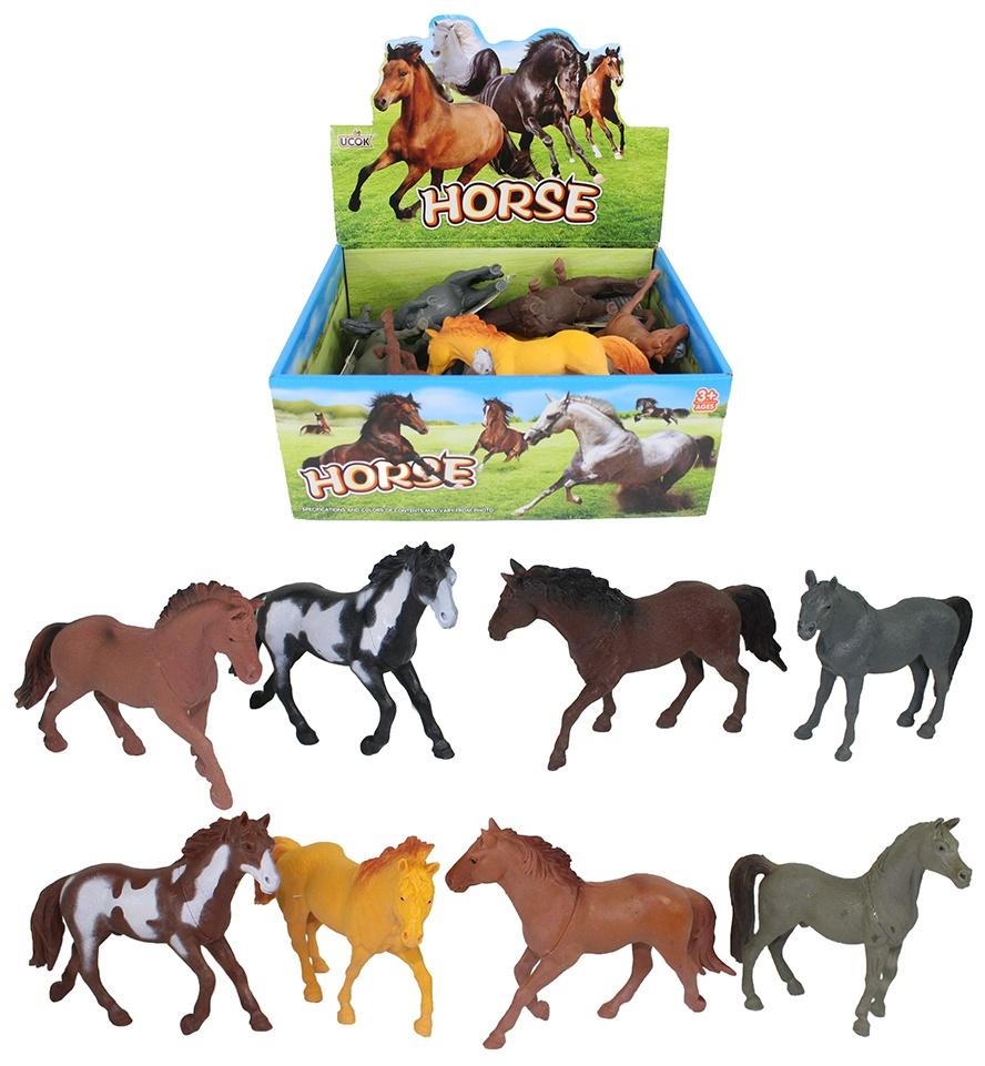 Pferd mehrfach sortiert ca 13 cm