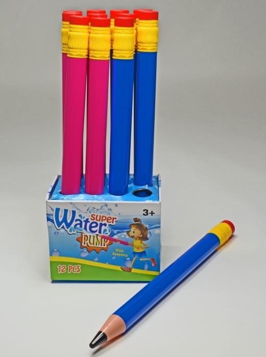 Wasserspritzer Bleistiftform, 2-fach sortiert, ca 54 cm