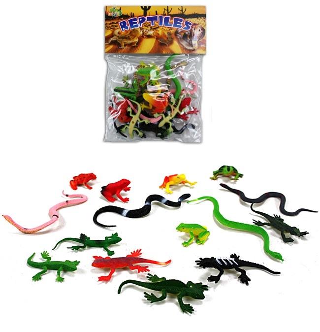 Reptilien im Beutel - ca 3,5-10cm