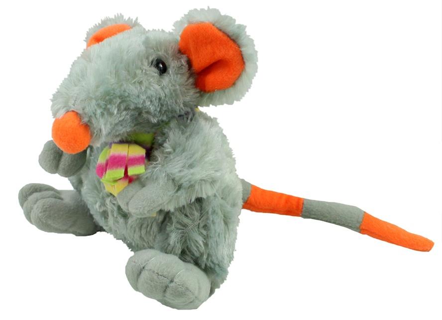 Plüsch Ratte sitzend ca 18 cm