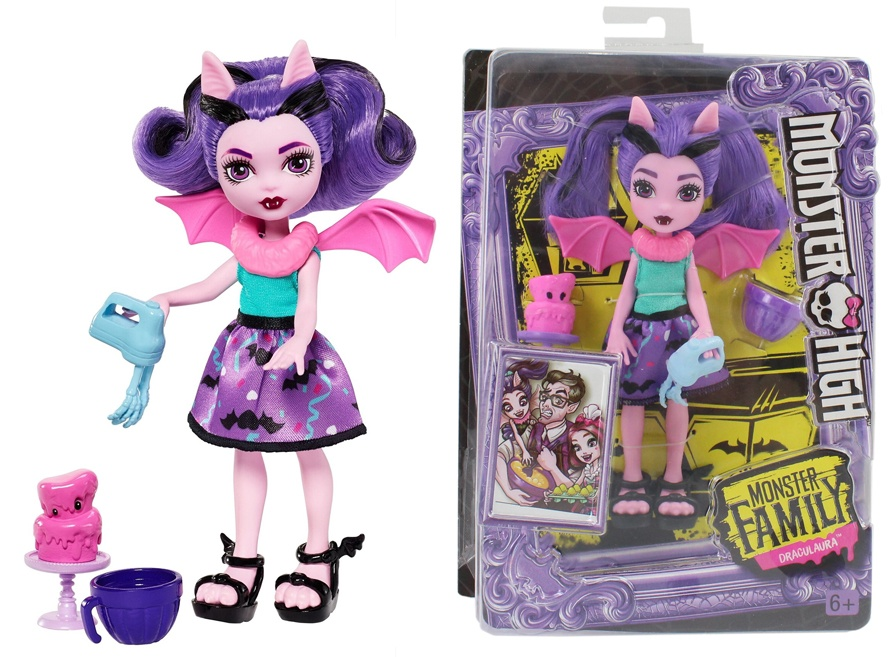 Mattel Monster High Puppe Fangelica