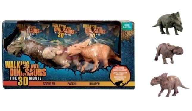 WWD Walking with Dinosaurs SET - in Box ca 17,5x9x4cm