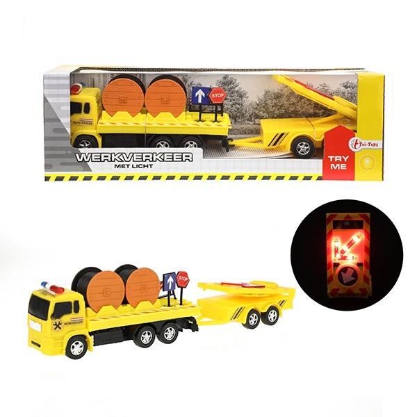 Baufahrzeug mit Licht ca 30cm