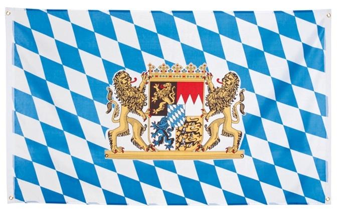 Fahne Flagge Bayern Oktoberfest ca 90x150cm