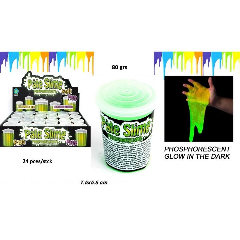 Schleim Neon grün ca 80g in Dose ca 7,5x5,5cm
