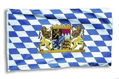 Fahne -Bayern- ca 90 x 60 cm
