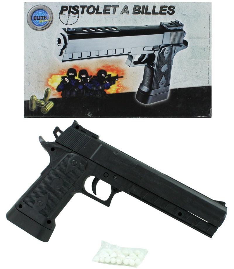 Kugelpistole mit Magazin 0,50 joule ca 23 cm