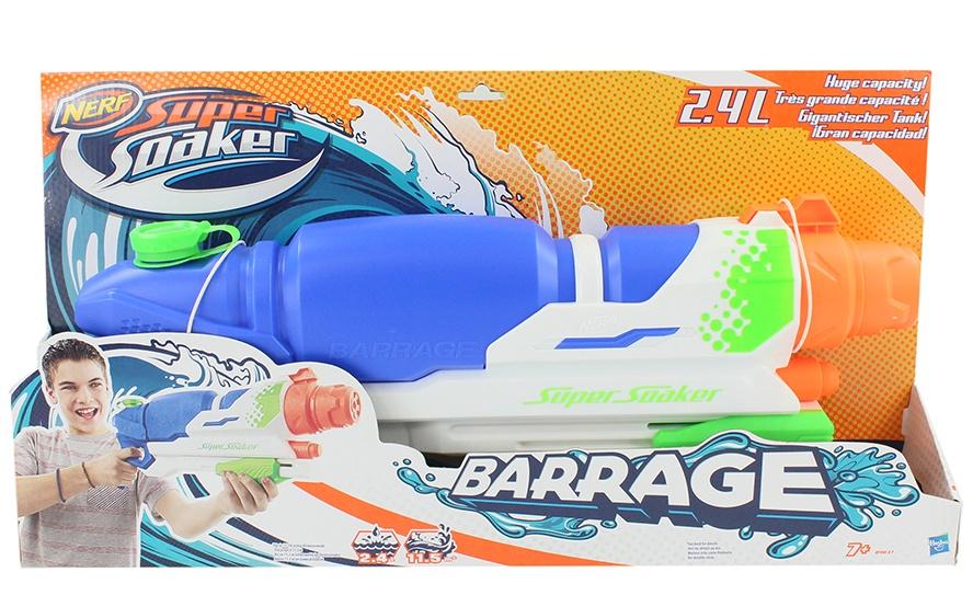 Hasbro Nerf - Super Soaker - Barrage