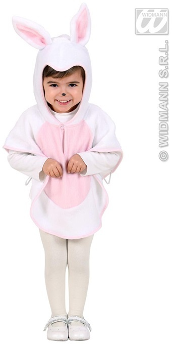 Kostüm - Cape Plüschhase für Kinder (Körpergröße ca 98cm)