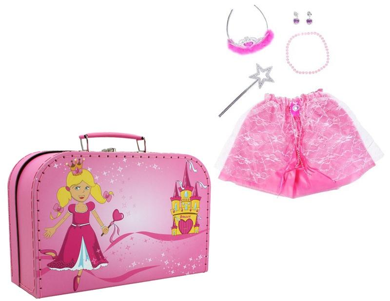 Knorrtoys Verkleidungskoffer Princess 6 teilig