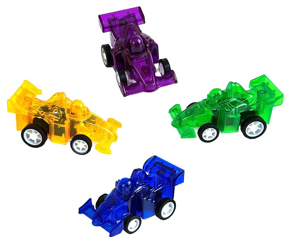 Rennwagen mit Rückzug ca 60 x 30 mm