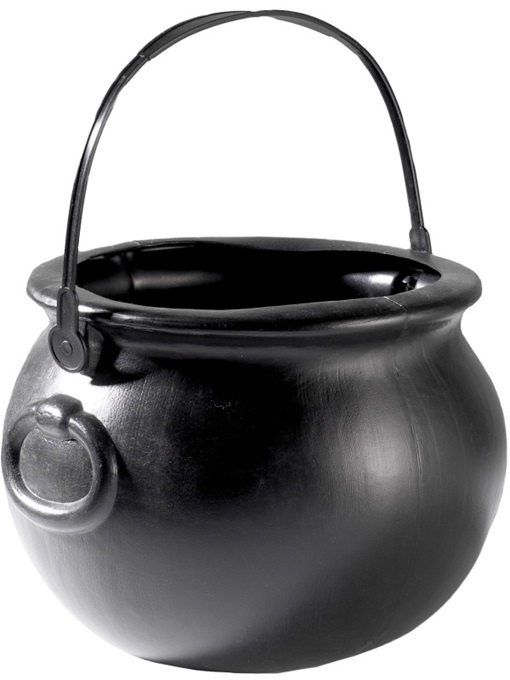 Hexenkessel schwarz - Höhe ca 15cm