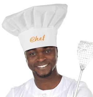 Kochmütze Chef ca 31 cm