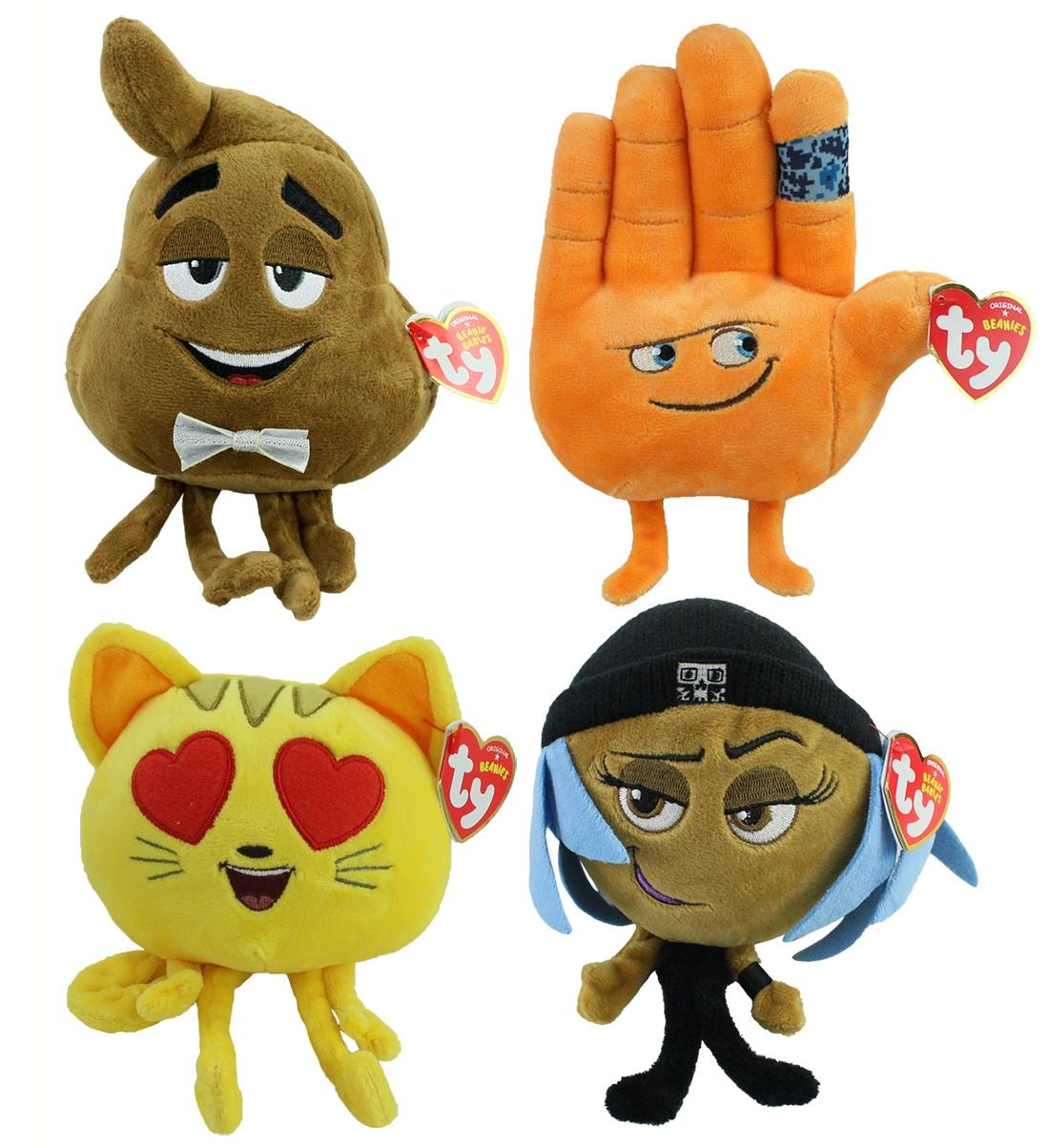 Carletto Emoji Set Ausbrecher, Kothaufen,Katze,High5