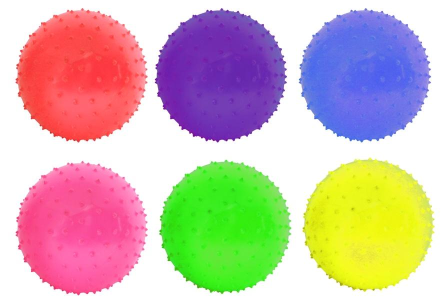 Noppenball Stachelball 6-fach sortiert ca 25 cm