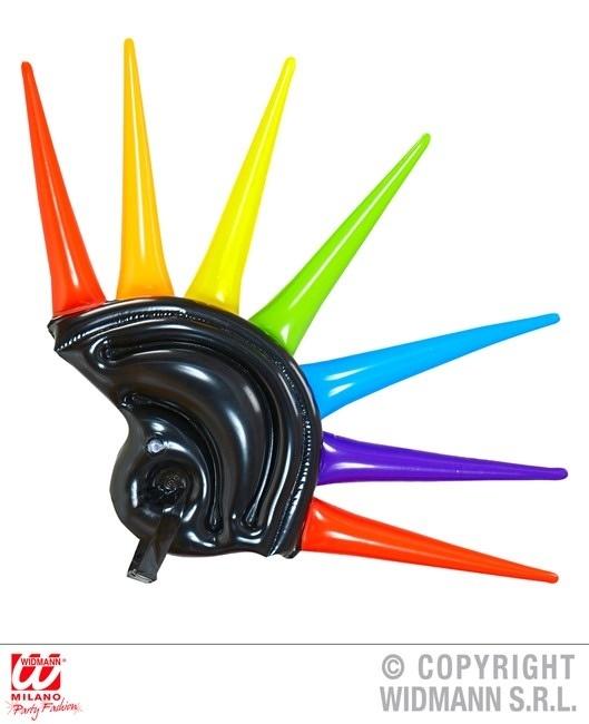 Helm mit Spikes aufblasbar ca 90 cm