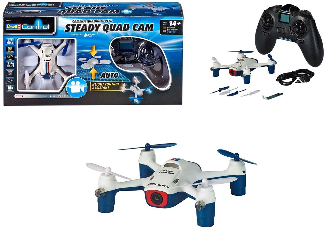 REVELL23922 RC Quadrocopter Steady Quad Camera 2,4 GHZ