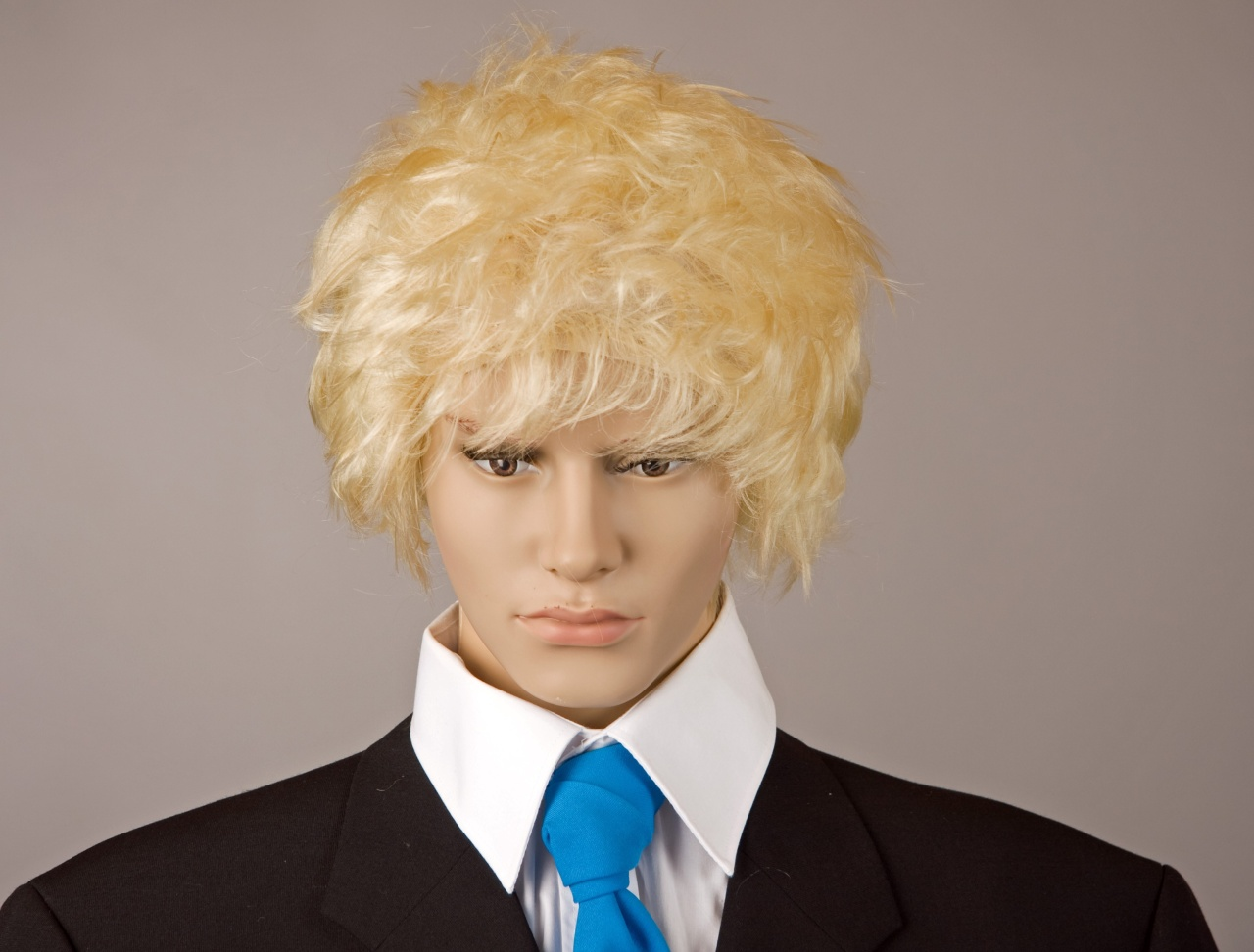Perücke Boris Johnson, blond