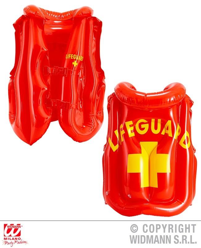 Rettungsschwimmerweste aufblasbar