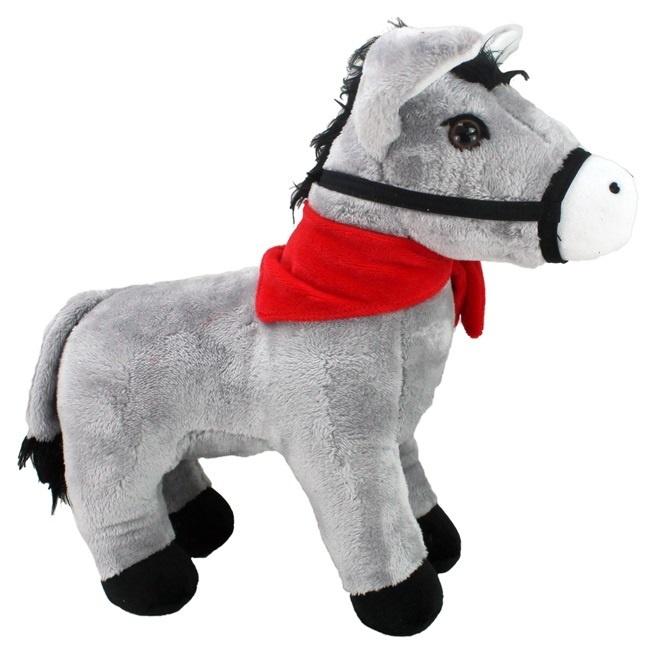 Esel mit Zaumzeug stehend ca 40 cm