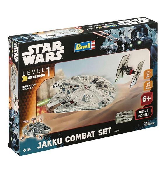 REVELL Modellbausatz Star Wars Jakku Combat 06758