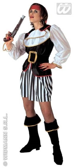 Kostüm - Piratin Größe M