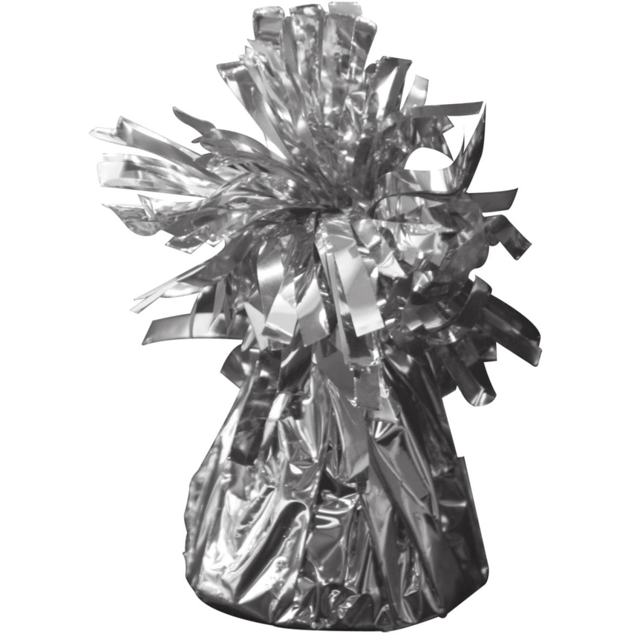 Ballongewicht in Folie silber ca 145-170 g