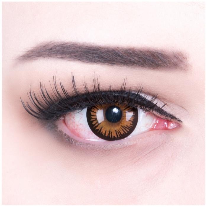 Paar Kontaktlinsen Twilight