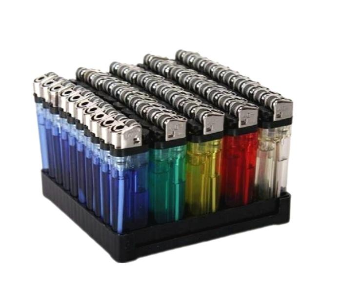 Einwegfeuerzeug  farblich sortiert  mit Kindersicherung