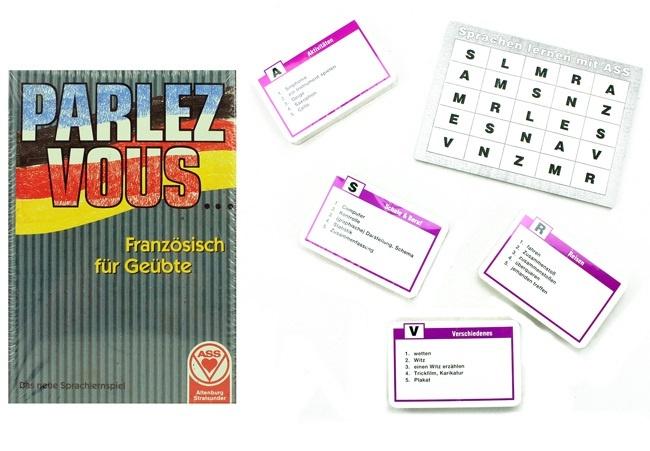 ASS Sprachlernspiel -  Französisch für Geübte