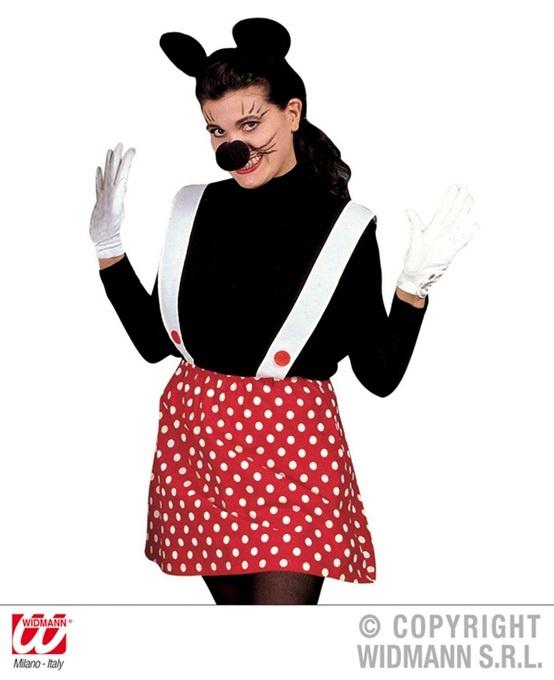 Kostüm - Maus für Damen 3tlg - Größe M