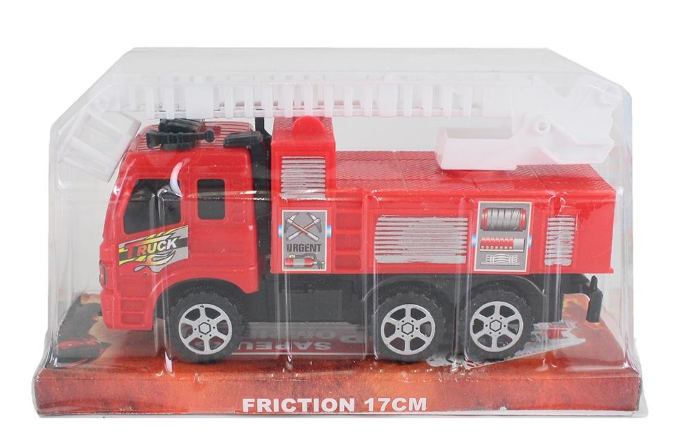 Feuerwehr mit Friktion ca 17 cm