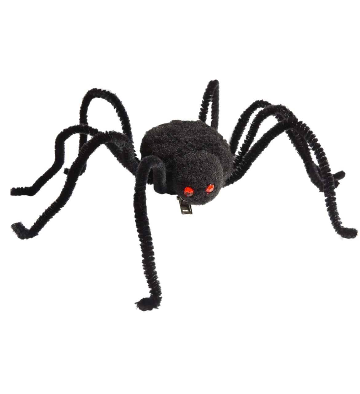 Haarspange mit Spinne