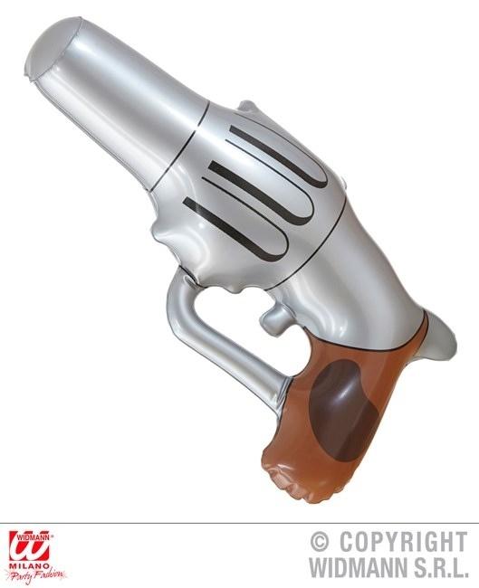 Cowboypistole aufblasbar ca 29 cm