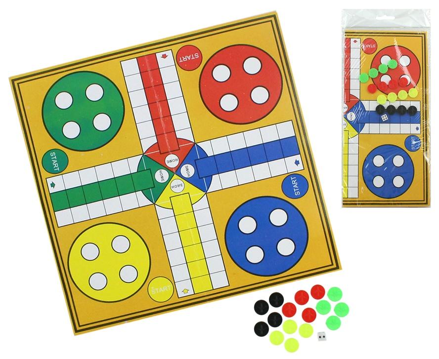 Spiel Ludo ca 24,5x24,5cm