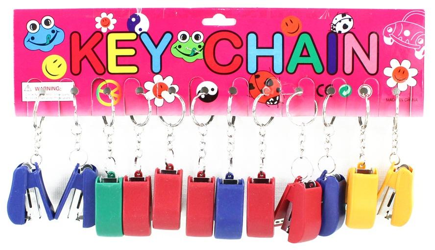 Hefter an Schlüsselanhänger ca 4 x 3 cm