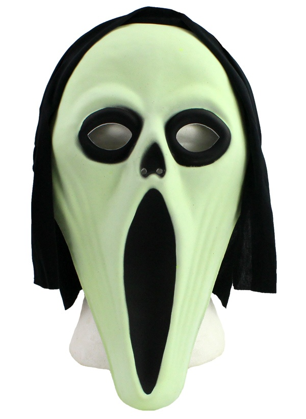 Maske Screamer glow in the dark
