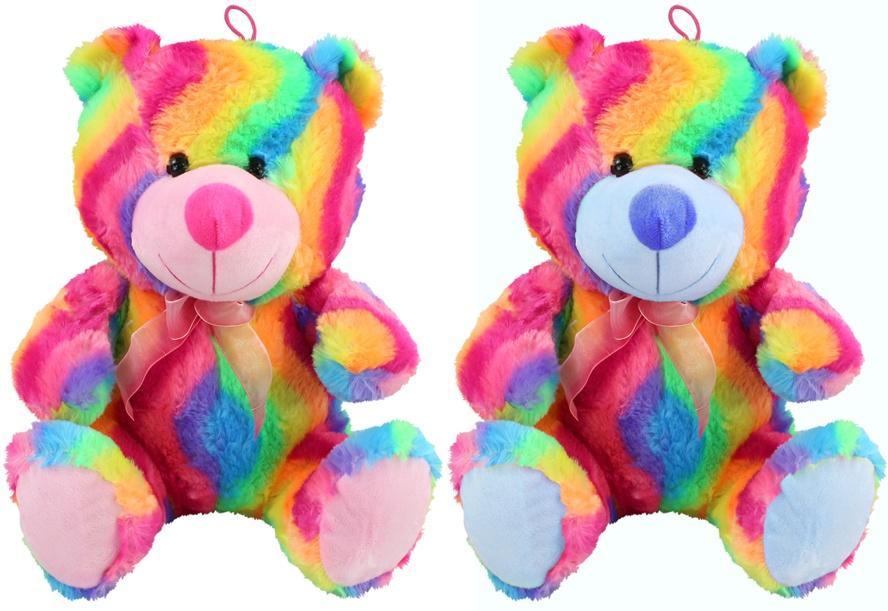 Regenbogen Bär 2-fach sortiert ca 33 cm