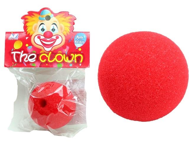 Clownnase Schaumstoff ca 45 mm