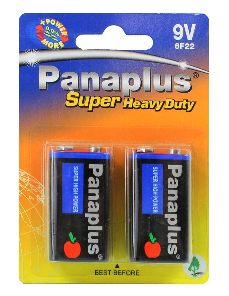 Batterie 9 Volt Block Batterie auf Karte ca 12x8,5cm