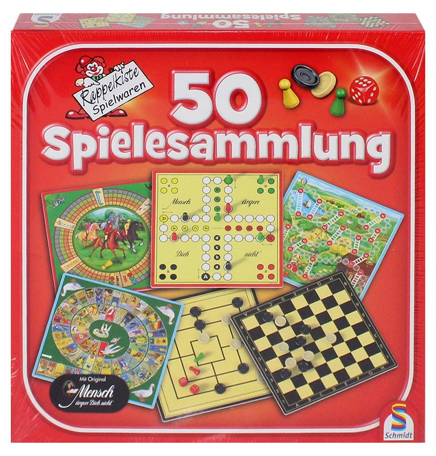 Schmidt Spielesammlung im Karton ca 31,5x31,5cm