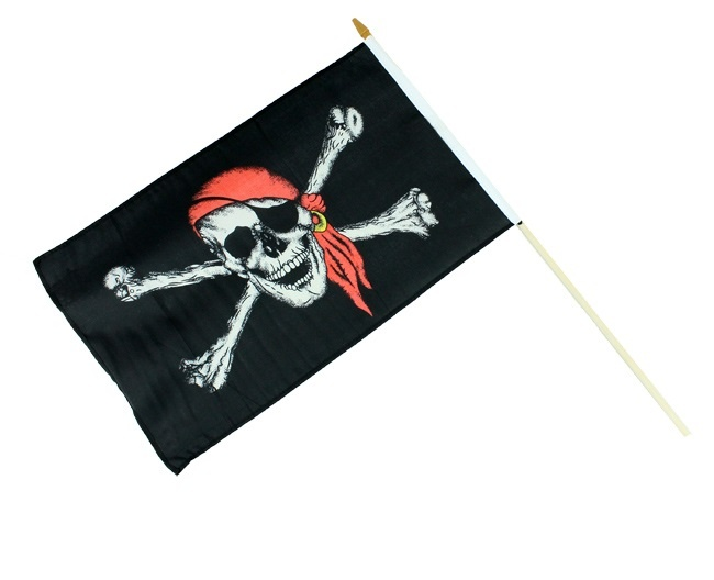 Piratenflagge ca 48 x 31 cm