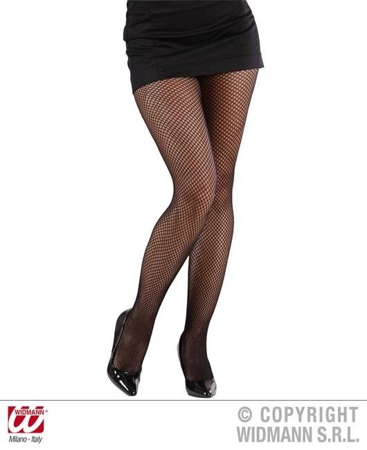 Netzstrumpfhose schwarz Einheitsgröße