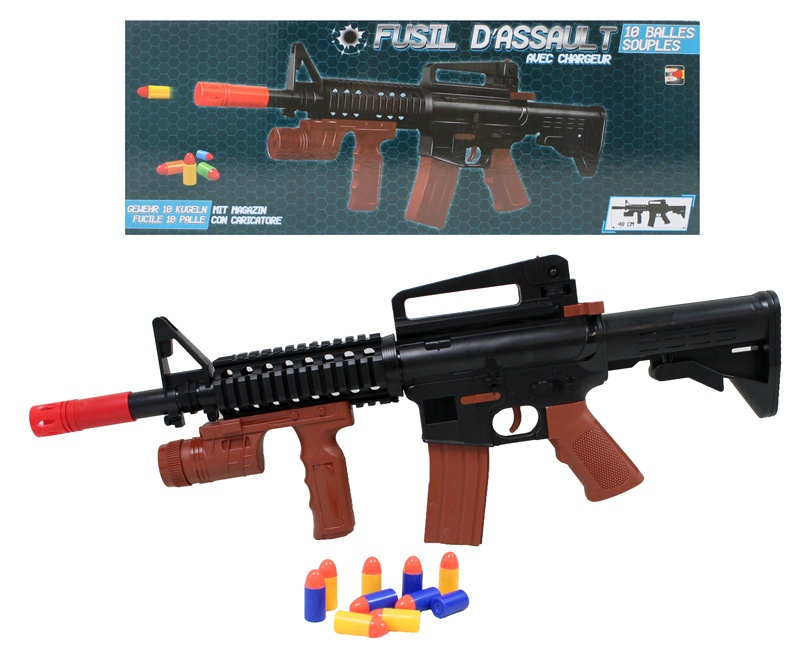 Gewehr mit 10 Patronen ca 48 cm