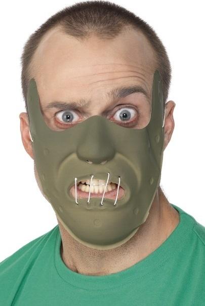 Maske Horror Das Schweigen der Lämmer