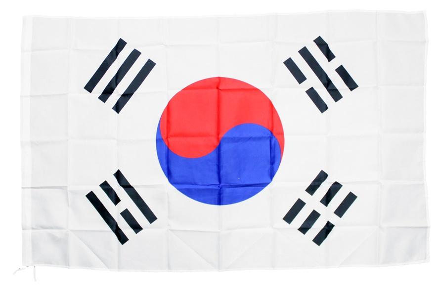 Flagge Fahne Südkorea ca 150 x 90 cm